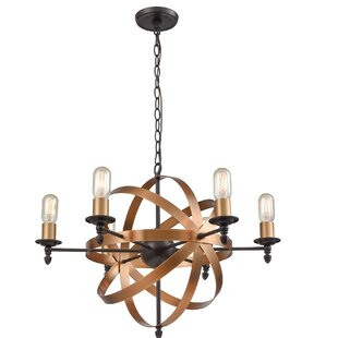 Wrought Studio SandpiperCove 6-Light Novelty Chandelier