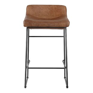 Beckford Counter  Bar Stool Set of 2 by 17 Stories