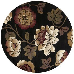Floral Plant Round Area Rugs You Ll Love Wayfair