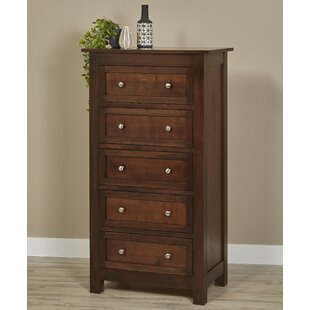 Bulluck 5 Drawer Chest by DarHome Co Wonderful