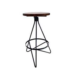 Cate 30 Swivel Bar Stool Gracie Oaks