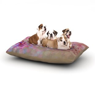 Beth Engel 'Princess Confetti' Dog Pillow with Fleece Cozy Top ByEast Urban Home