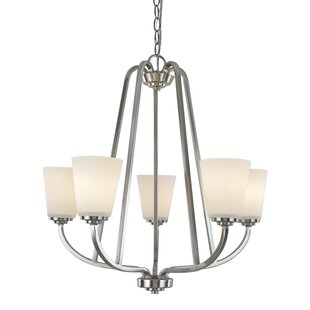 Red Barrel Studio Quarry 5-Light Shaded Chandelier
