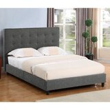 Beyonce Queen Upholstered Platform Bed by Gracie Oaks