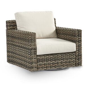 South Sea Rattan Jakarta Patio Glider Chair with Cushion