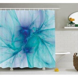 Camillei Modern Creative Artwork Shower Curtain + Hooks