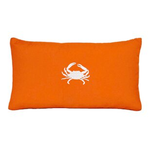 Wabasso Beach Outdoor Melon Lumbar Pillow