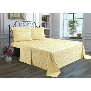 Shop For Printed Bed Floral Sheet Set ByChiara Rose