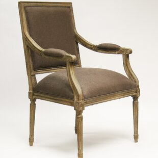 Zentique Louis Fabric Armchair