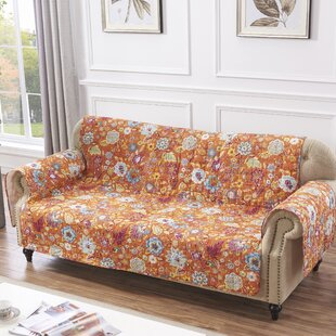 Shop Astoria Spice Sofa Slipcover by Red Barrel Studio