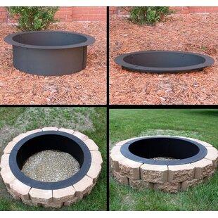 Deeco DIY Steel Wood Burning Fire Ring