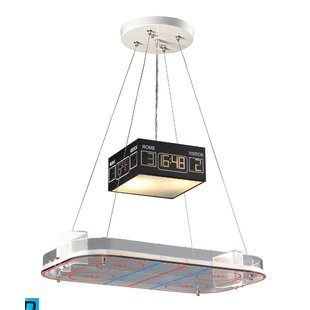 Zoomie Kids Brennan 2-Light Pool Table Light