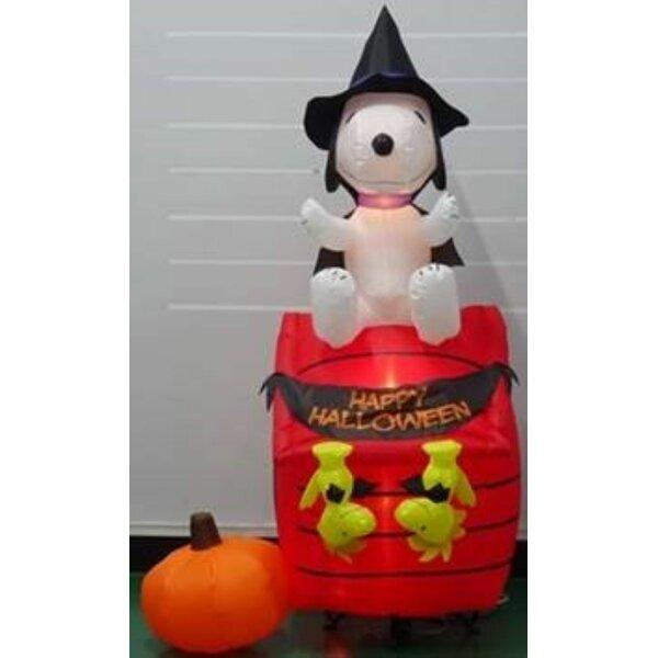 Halloween Inflatables Snoopy Wayfair