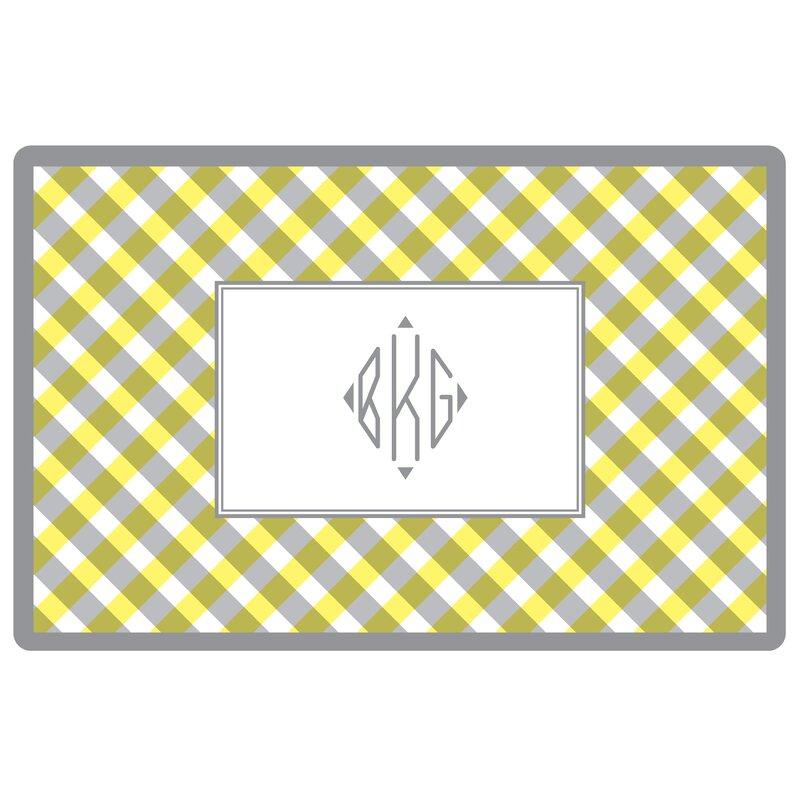 Kelly Hughes Designs Everyday Tabletop Gingham 18 Placemat Wayfair