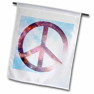 Peace Sign Garden Flag | Wayfair