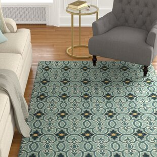 Edinburgh Handmade Teal Indoor/Outdoor Area Rug