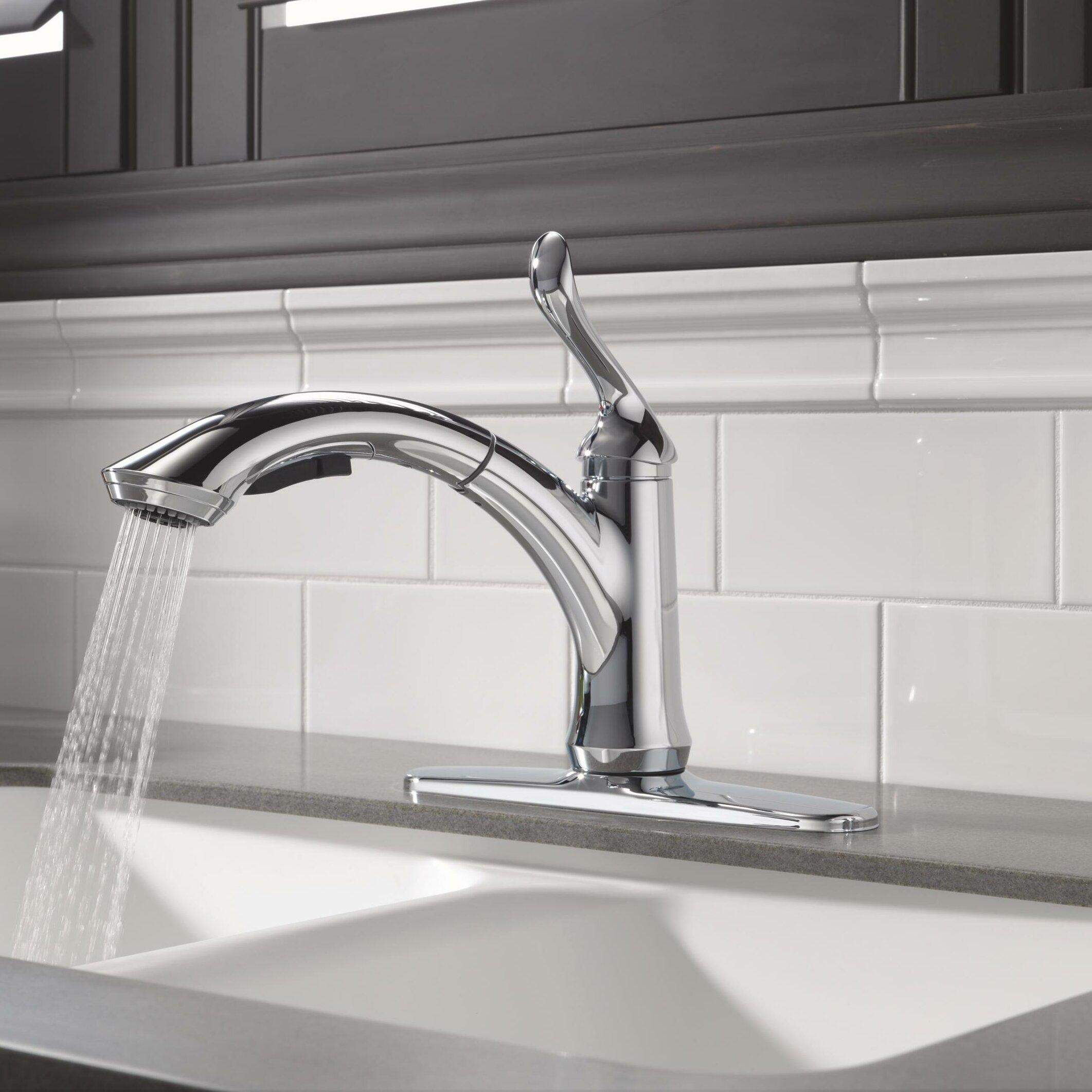 Delta Linden Single Handle Kitchen Faucet -