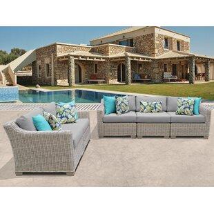 Coast 5 Piece Sofa Seating Group with Cushion