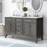 Arminta 60 Double Bathroom Vanity Set by Charlton Home