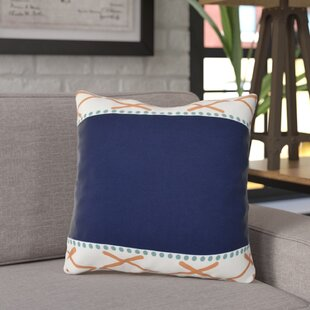 Adne Knot Fancy Outdoor Throw Pillow