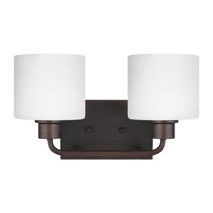 Inexpensive Yareli 2-Light Vanity Light By Winston Porter