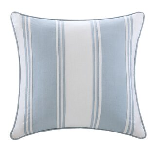 Crystal Beach Cotton Throw Pillow