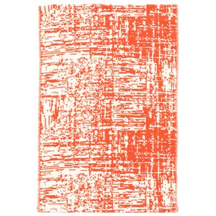 Drybrush Hand-Woven Orange Area Rug by Dash & Albert Europe