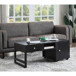 Amett Coffee Table with Storage by Latitude Run SKU:EB174412 Details