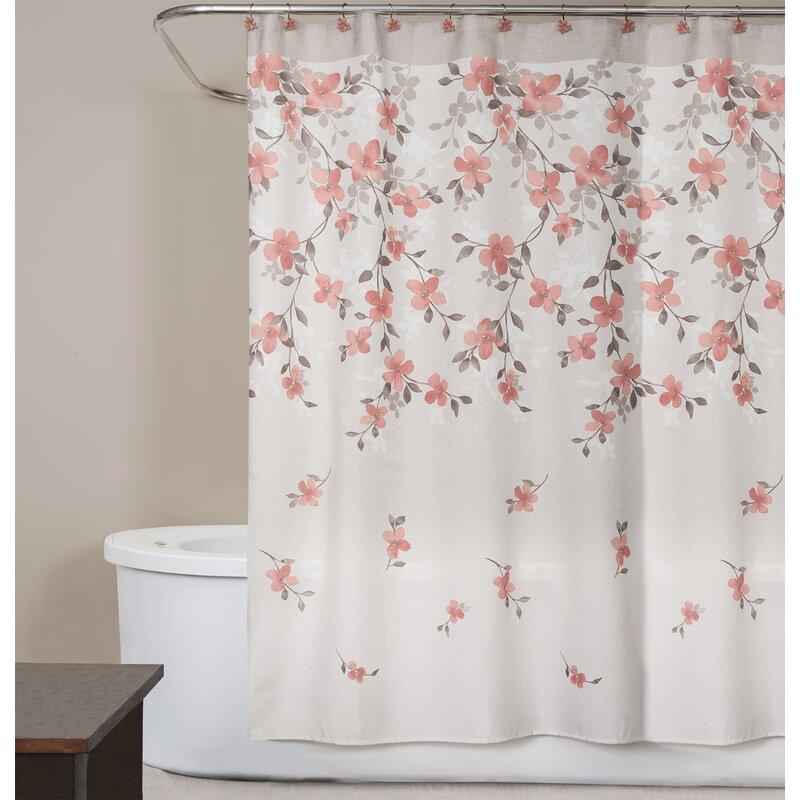 Coral Garden Shower Curtain