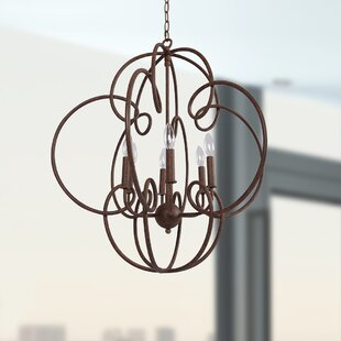 One Allium Way Anastagio 6-Light Lantern Pendant