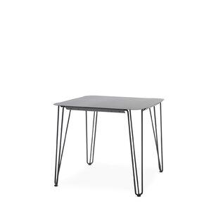 Compare Price Rambla Steel Bistro Table