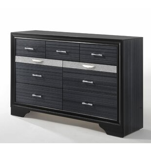 Jules 9 Drawer Double Dresser