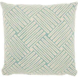 Basketweave 100% Cotton Throw Pillow