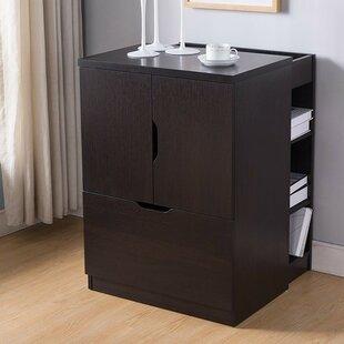 Dewitt 1-Drawer Mobile Vertical Filing Cabinet by Rebrilliant