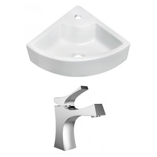 How To Find Kraus Ceramic Ceramic Square Vessel Bathroom Sink With Faucet