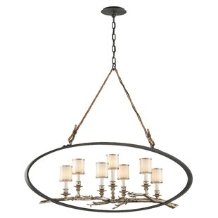 Loon Peak Oxford 7-Light Shaded Chandelier