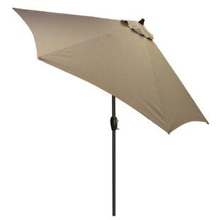 Highland Dunes Hulme Solid 8.9' Market Umbrella