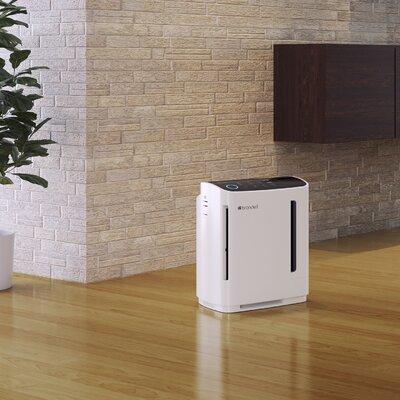 O2+ Revive Cool Mist Evaporative Console Humidifier Brondell Color: Off White