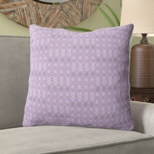 Duane Lavender Throw Pillow