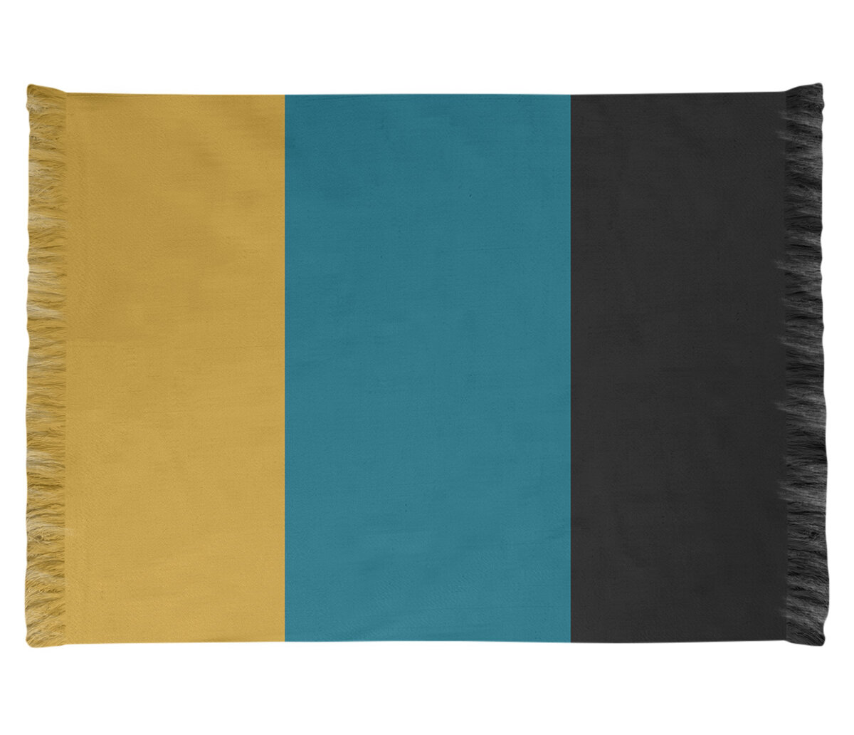 East Urban Home Jacksonville Throwback Football Yellow Black Blue Area Rug Wayfair