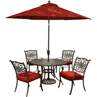 Rhone Traditions 5 Piece Dining Set