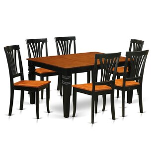 Arledge 7 Piece Dining Set DarHome Co