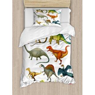 Dinosaur Duvet Cover Set