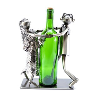 Tango Dancers 1 Bottle Tabletop Wine Rack..