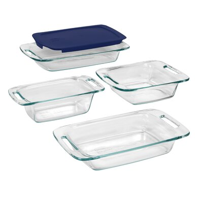 Pyrex Easy Grab 5 Piece Bakeware Set