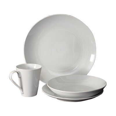 16 Piece Dinnerware Set, Service for 4 Flato Home