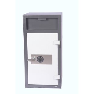 Combination Lock Depository Safe by