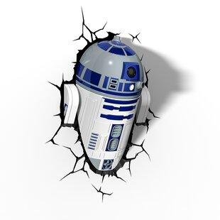 3D Light FX 3D EP.7 Star Wars R2-D2 Deco 2-Light Night Light
