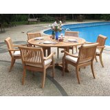Masten 7 Piece Teak Dining Set