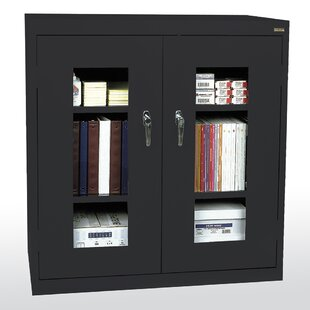 Clear View Storage Cabinet by Sandusky Cabinets